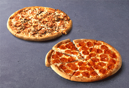 La 2da a S/1 Pizzas Grandes Clásicas
