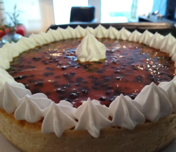 Cheesecake de Piña-Maracuyá