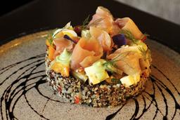 Ensalada de Quinoa y Trucha
