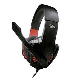 I2Go Audifonos Gamers Rojo Pro 10