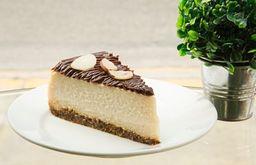 Cheesecake de Choco-Castaña