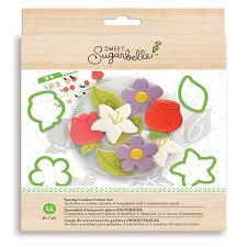Kit de Moldes Para Galletas - Flores de Primavera