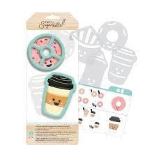 Kit de Moldes Para Galletas - Café y Donuts