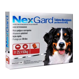 Nexgard Antipulgas Para Perro Con Peso de 25 a 50 Kg