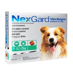 Nexgard Antipulgas Para Perro Con Peso de 10 a 25 Kg
