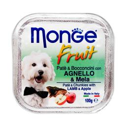 Monge Paté Premium a Base de Cordero y Manzana 100 g