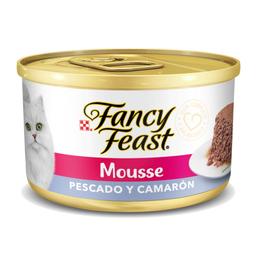 Fancy Feast Mousse de Pescado y Camarón 85 g