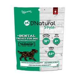 D'Natural Snack Para Cuidado Dental 320 g