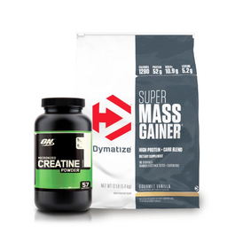 Super Mass Gainer Pack Proteína + Creatine