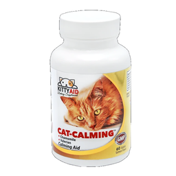 Kitty Aid Relajante Natural Manzanilla y Valeriana 60 Tabletas