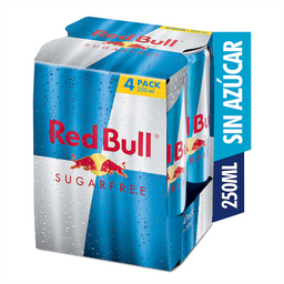 Red Bull Bebida Energizante Sugarfree