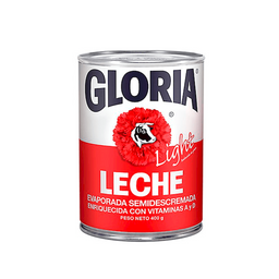 Gloria Leche Evaporada Light