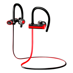 Usams Audífonos Deportivo Bluetooth Negro Con Rojo S4