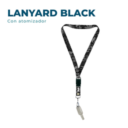 Lanyard Con Alcohol Camo Black