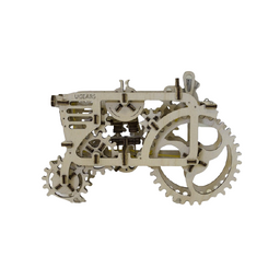 Ugears Rompecabezas Mecánico Tractor Color Madera