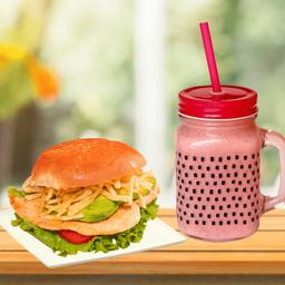Combo Filete de Pechuga con Milkshake