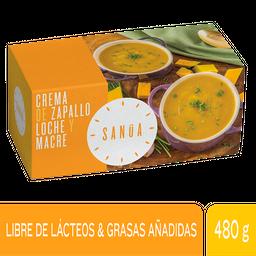 Sanúa Crema De Zapallo Loche Y Macre -