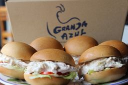 Sándwich de Pollo Granja Azul x12