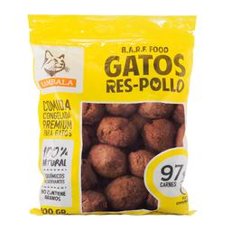 Rambala Alimento Para Gato Albóndigas de Res y Pollo 800 g