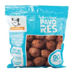 Rambala Alimento Para Perro Albóndigas de Res y Pavo 800 g