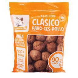 Rambala Alimento Para Perro Albóndigas de Pavo Res y Pollo 800 g