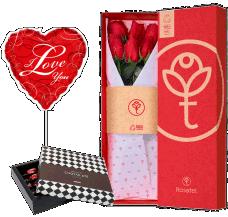 Caja 6 Rosas Rojas San Valentin 01