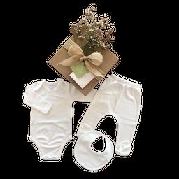 Mellow The Baby Brand Set Bebé Básico Blanco