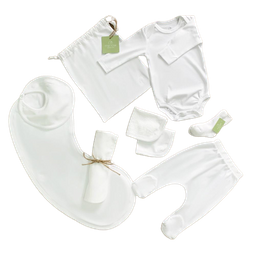 Mellow The Baby Brand Set Bolsita y Básicos de Bebé