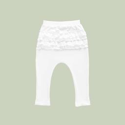 Mellow The Baby Brand Pantalón Bobos Blanco
