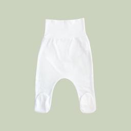 Mellow The Baby Brand Pantalón Pretina Ancha Con Pie Blanco