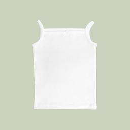 Mellow The Baby Brand Camiseta Tiritas de Bebé Blanco