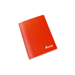 Apolo Cuaderno Grapado Cuadriculado 40 Hojas Escolar A5 27879