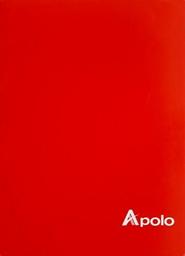 Apolo Cuaderno Grapado Cuadriculado 72 Hojas Sticker