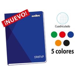 Andes Cuaderno Grapado Cuadriculado A4 92H Start-Up 60 g