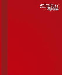Alpha Cuaderno Cosido Carta de Raya 92 Hojas Top Line 42887