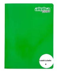 Alpha Cuaderno Grapado Carta Cuadriculado 92 Hojas Teens 49497