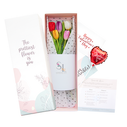 Caja 5 Tulipanes