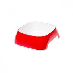 Ferplast Plato Para Mascota Glam Rojo M