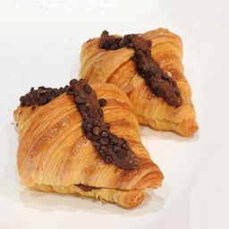 Croissant de Almendras y Chocolate