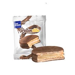 Alfajor Bañado de Chocolate Relleno de Manjar Blanco