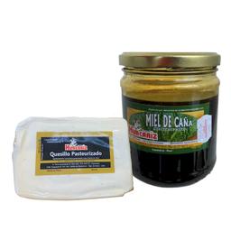 Miel de Caña + Barra de Quesillo Pasteurizado