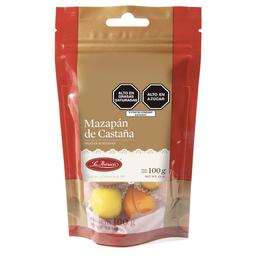 Pastas de Mazapan de Castaña