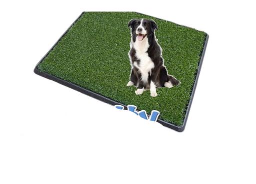 Pet Potty Baño Portátil Con Césped Artificial Perros - Grande