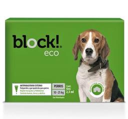 Block Eco Antiparasitario Externo Perros de 10 a 25 Kg 2.5 mL
