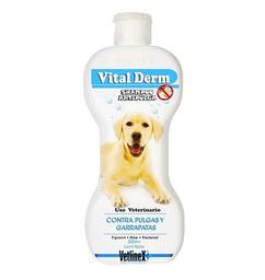 Vital Derm Shampoo Antipulgas y Antigarrapatas 300 mL
