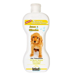 Vetlinex Shampoo Hipoalergénico Avena y Glicerina. Frasco 300 mL