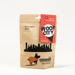 Pet´s Republic Snack de Hígado de Res Woof City 100 g