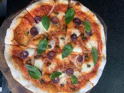 Pizza Putanesca Mediana