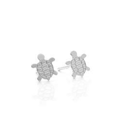 Baliq Aretes de Niña de Plata 925 Tortuga-ARS-4976