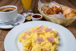 Desayuno Americano con Jamón Inglés
